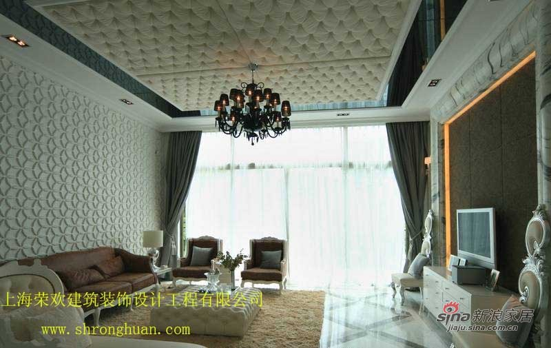 欧式 别墅 客厅图片来自用户2746953981在浦东枫丹白露别墅欧式风格32的分享