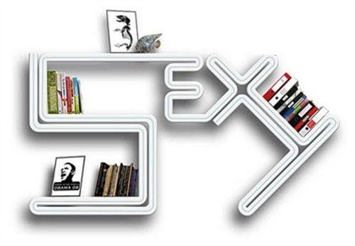 这么有创意的书架,你一定心动了吧!