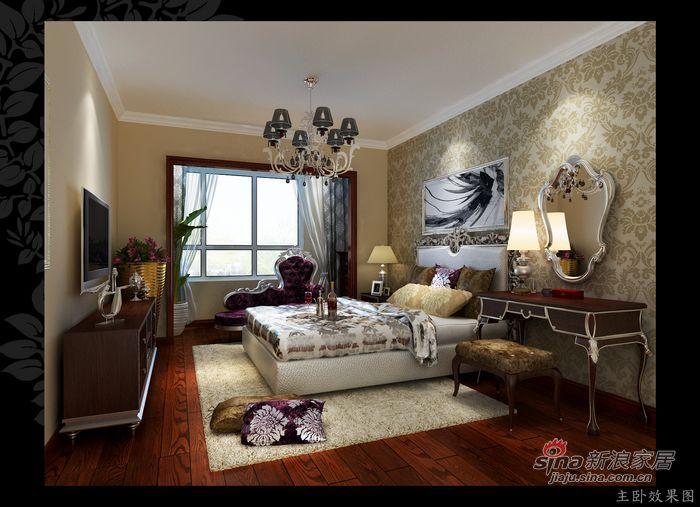 简约 四居 卧室图片来自用户2557010253在10万元打造凸显个性的140㎡四居室30的分享