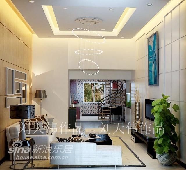简约 三居 客厅图片来自用户2557010253在6万2元缔造神话般的133平米简约舒适爱家49的分享