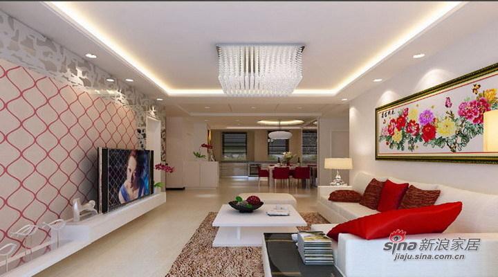 简约 三居 客厅图片来自用户2557010253在海富漫香林120平温馨装修现代简约别致风64的分享