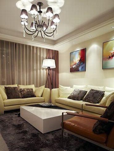 欧式 三居 客厅图片来自用户2746953981在温馨软装+时尚硬装打造简约3居93的分享