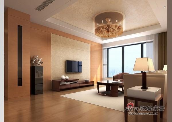 纯净色调搭配130平现代三居