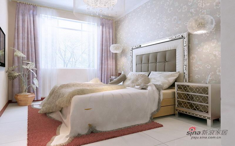 简约 二居 卧室图片来自用户2559456651在7.8万营造简约、时尚、舒适116平雅致2居88的分享