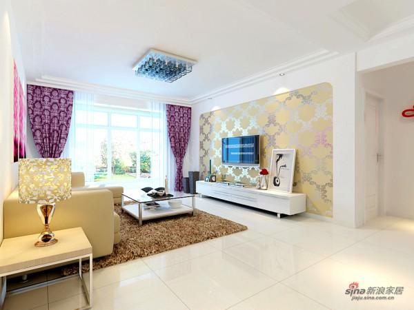 127平三居室现代简约设计图