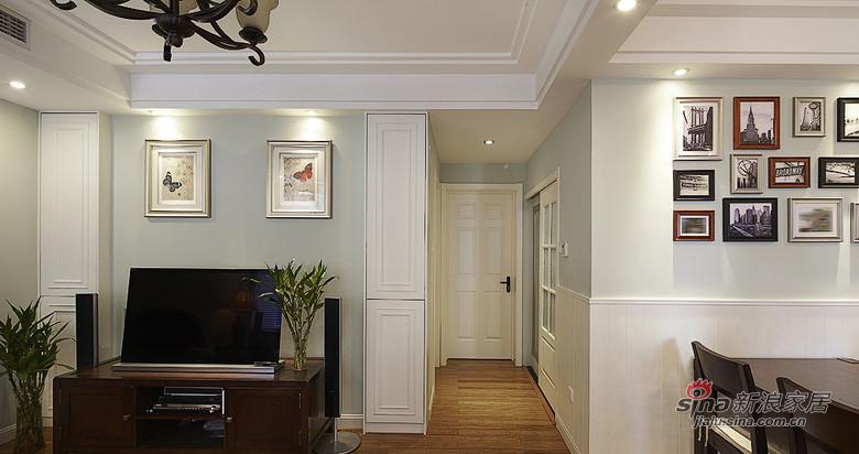混搭 二居 客厅图片来自装修微日记在【高清】89平现代美式混搭二人世界91的分享