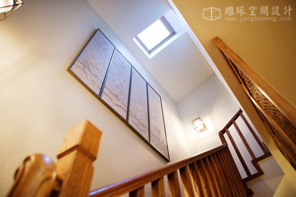 中式楼梯见