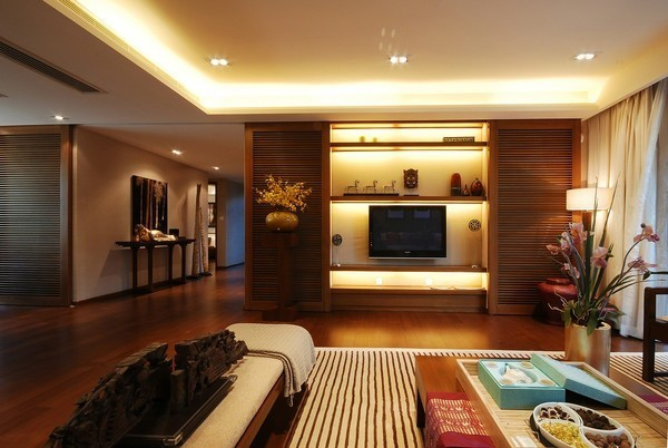 中式 三居 客厅图片来自用户1907659705在12.6万铸造150平新中式三居室爱家81的分享