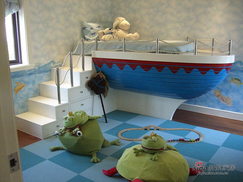 欧式 别墅 儿童房图片来自用户2757317061在帕缇欧香聚通装潢设计案例22的分享