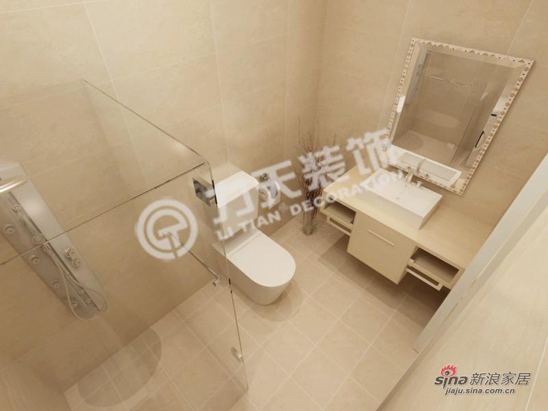 简约 二居 卫生间图片来自阳光力天装饰在和平时光-两室一厅-现代简约61的分享
