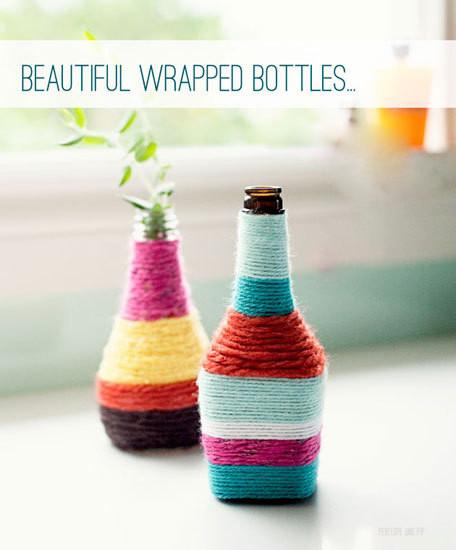 DIY漂亮花瓶