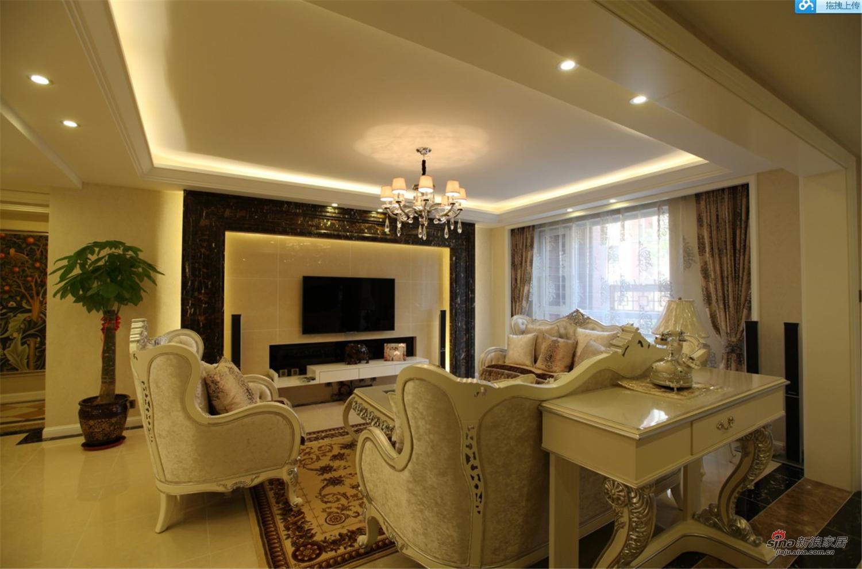 新古典 别墅 客厅图片来自用户1907664341在【高清】经典的才能永恒 独特的风格个性15的分享