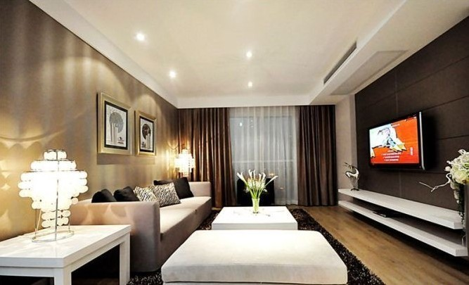 简约 三居 客厅图片来自用户2738093703在6.5万完美呈现简约风格三居室17的分享