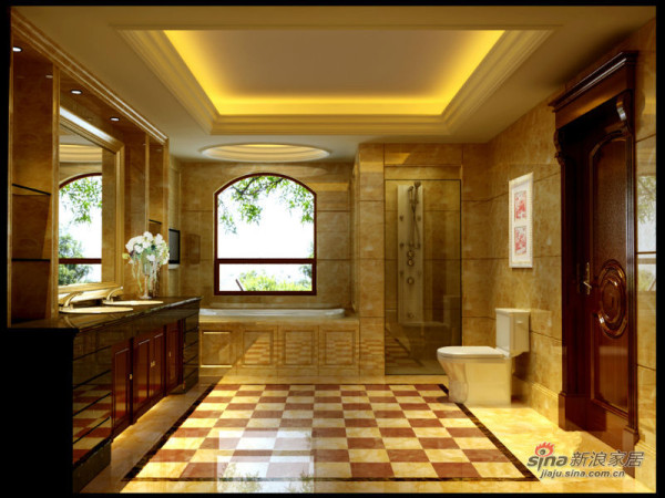 龙发装饰_卫生间的设计