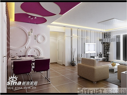 简约 三居 餐厅图片来自用户2737782783在实创装饰万科四季花城50的分享