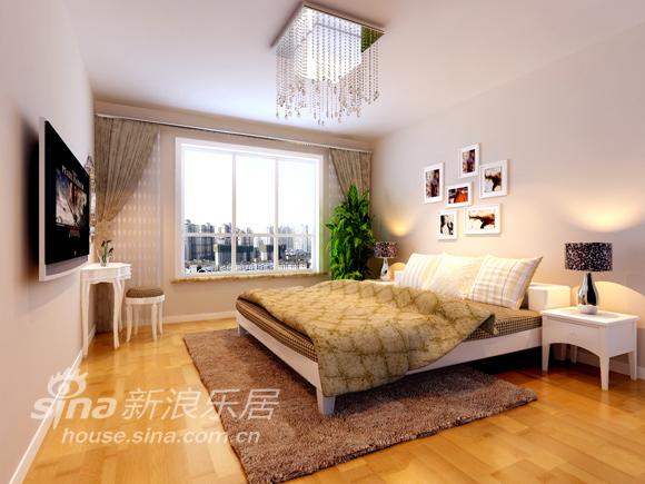 简约 三居 卧室图片来自用户2738093703在简约时尚温馨115平爱家50的分享