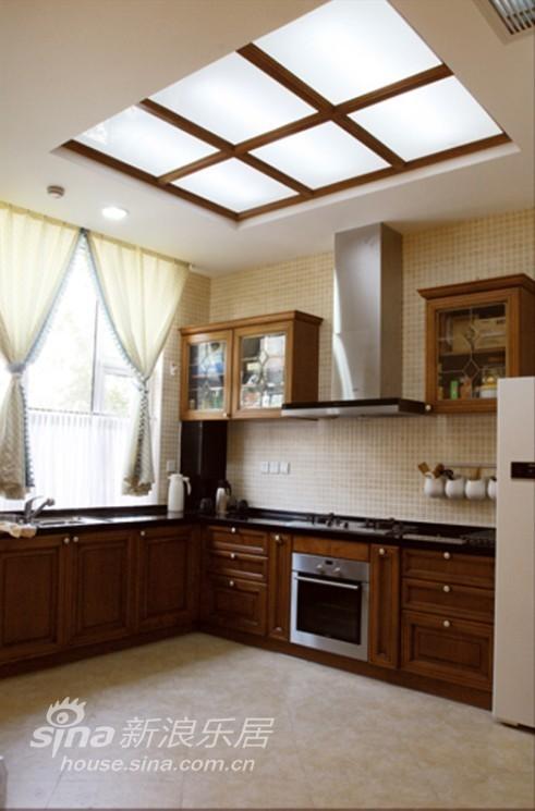 田园 别墅 厨房图片来自用户2737946093在经典的美式田园风情98的分享