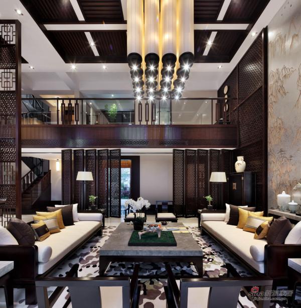 中式 别墅 客厅图片来自用户1907659705在【高清】东方禅意——方直君御企业会所85的分享