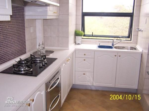 欧式 三居 厨房图片来自用户2557013183在万科城花英式田园风格样板房15的分享