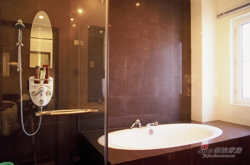 中式 别墅 客厅图片来自用户1907658205在220平现代中式别墅设计【实景】20的分享