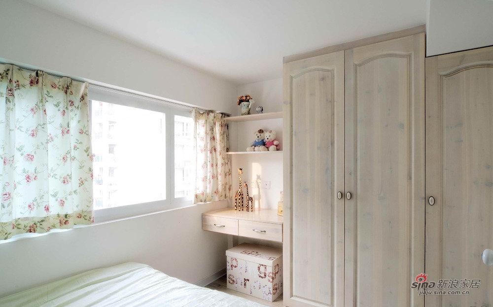 田园 复式 卧室图片来自佰辰生活装饰在【高清】14万营造92平挑高田园风复式10的分享