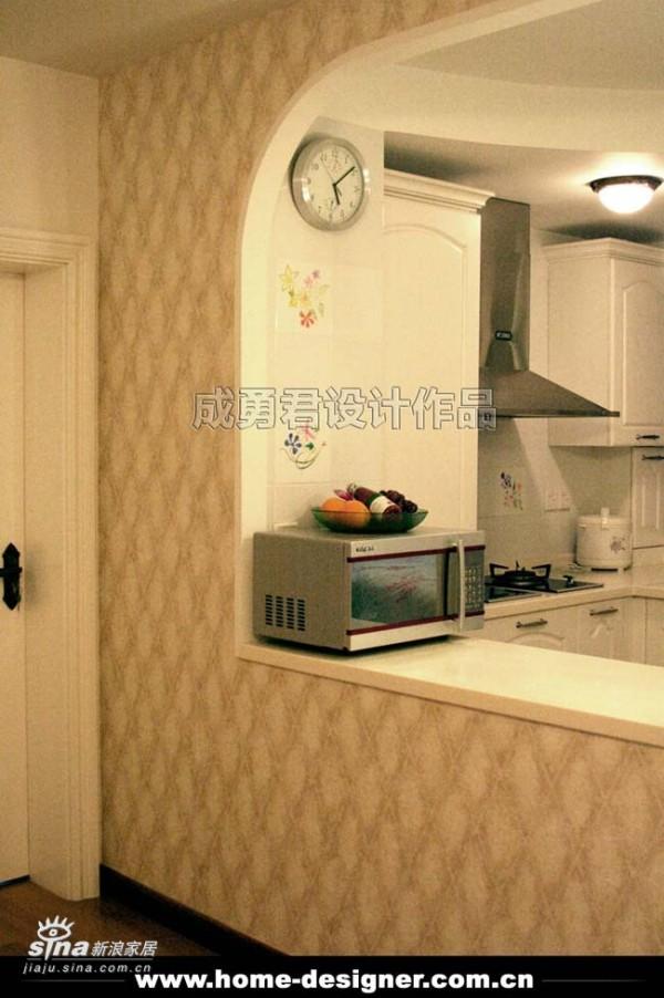 欧式 二居 厨房图片来自用户2772873991在正阳北里68的分享