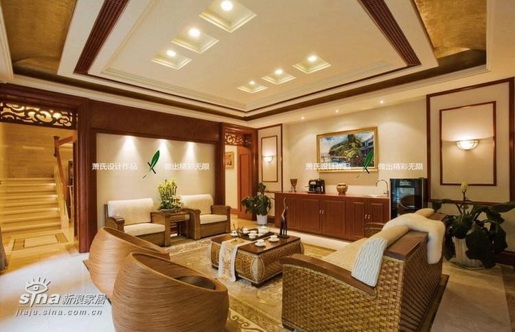 简约 别墅 客厅图片来自用户2557010253在真正的豪宅江南华府47的分享