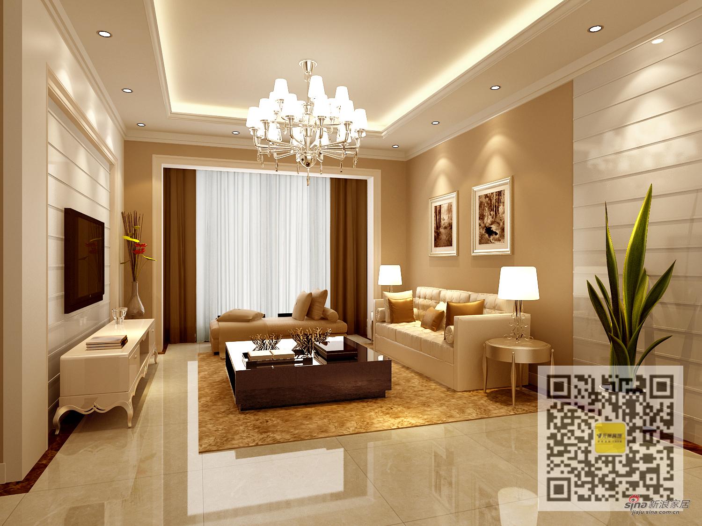 欧式 三居 客厅图片来自用户2746869241在英特公寓三居室欧式风格69的分享