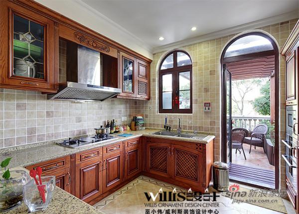 美式 别墅 厨房图片来自用户1907685403在常熟怡景湾400平米联体别墅
