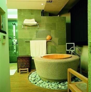 绿绿的浴室