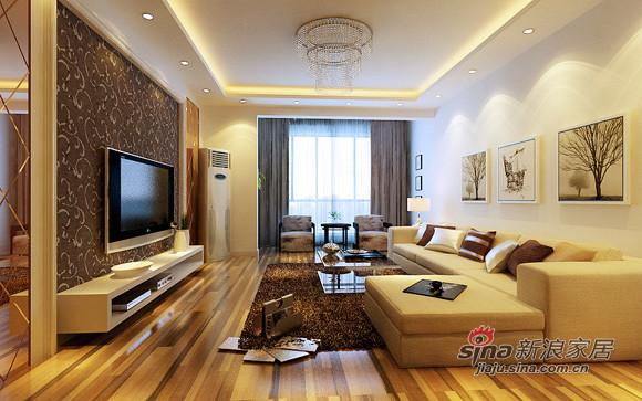 简约 三居 客厅图片来自用户2737782783在现代简约派装点107平中铁绿港幸福之家38的分享