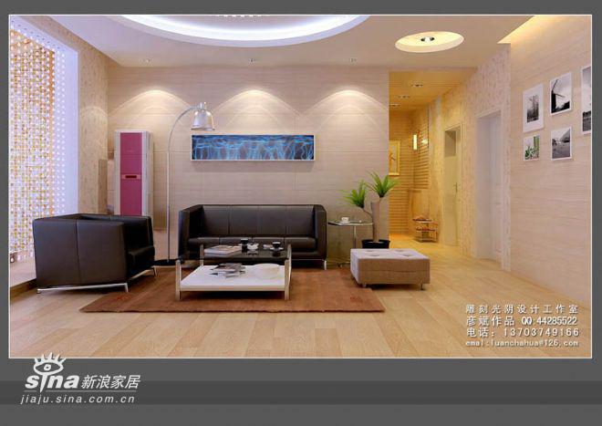 简约 三居 客厅图片来自用户2557979841在136平米精装修82的分享
