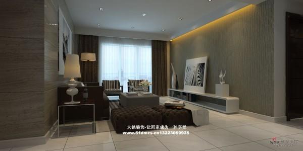 简约风格家庭装修设计-客厅设计效果图