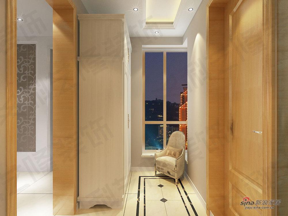 欧式 一居 玄关图片来自用户2772873991在科艺隆装饰一居室新欧式风格17的分享