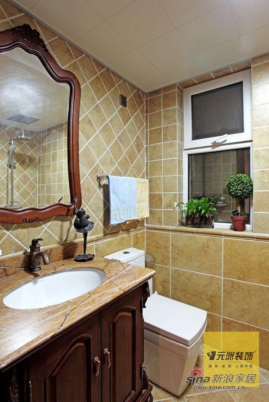 欧式 四居 卫生间图片来自用户2745758987在176平米欧美风情设计77的分享
