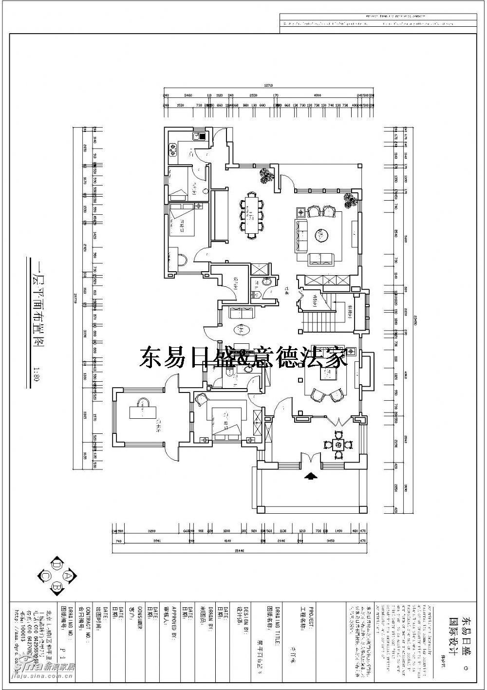 欧式 别墅 户型图图片来自用户2746953981在壹仟栋35的分享