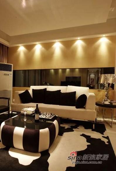 港式 三居 客厅图片来自佰辰生活装饰在7万打造110平港式时尚新居86的分享