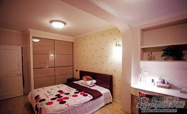 混搭 一居 卧室图片来自用户1907689327在80后夫妻省钱巧装90平美式田园风格70的分享