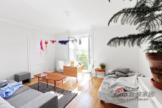 简约 一居 客厅图片来自用户2737786973在34平超小户一居 白领MM挑战空间利用极限16的分享