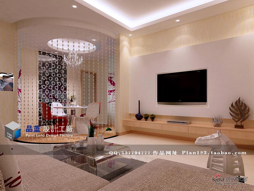 简约 二居 客厅图片来自用户2737786973在《小时代》-9万装修75平米高品位家居12的分享