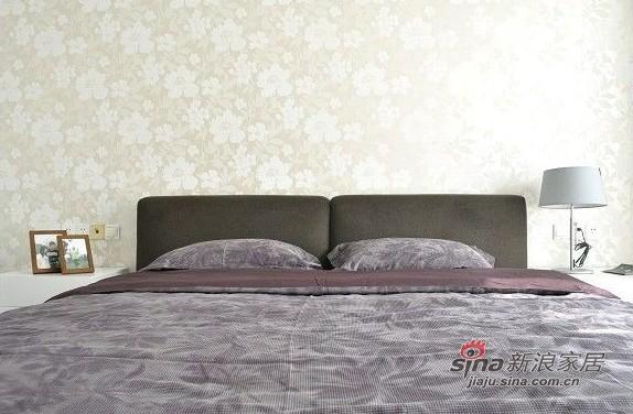 简约 三居 卧室图片来自用户2737735823在网友晒8万装清新素静的小家95的分享