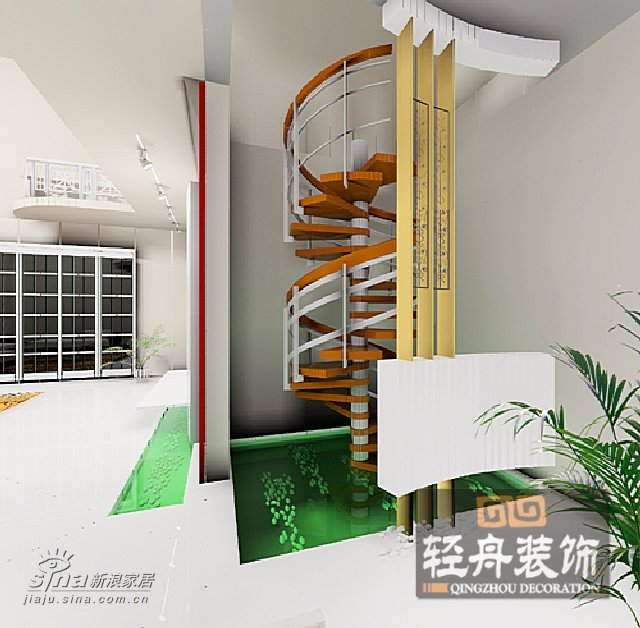 欧式 三居 楼梯图片来自用户2772856065在金钻广场B座15楼16的分享