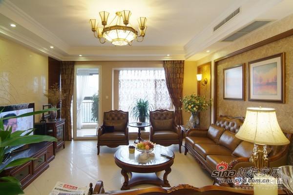 美式 二居 客厅图片来自用户1907685403在2房2厅美式古典雅致风格装修99的分享