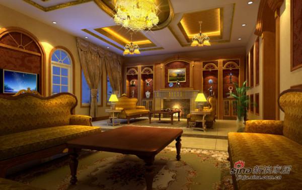简约 别墅 客厅图片来自用户2737782783在富华哥特式360平豪宅31的分享