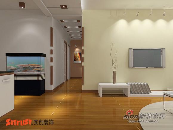 简约 三居 客厅图片来自用户2739153147在100平现代简约赏析47的分享