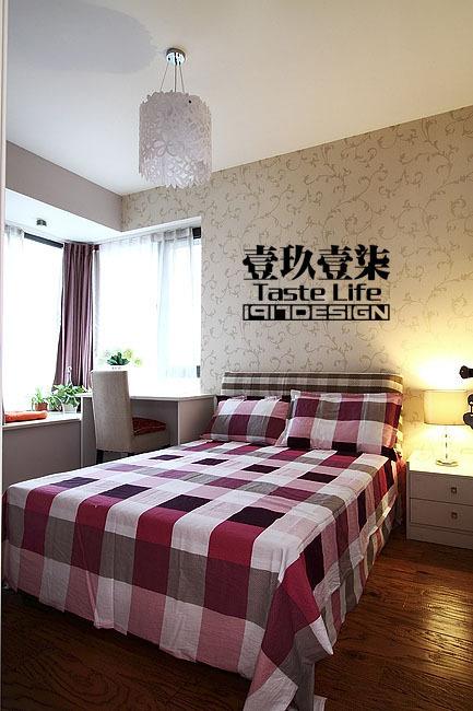 混搭 三居 卧室图片来自用户1907655435在【高清】半包13.5万装152平睿简混搭40的分享