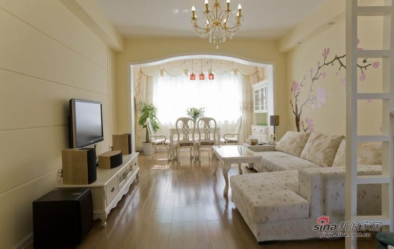 田园 二居 客厅图片来自用户2737946093在【高清】小资6.8万打造90平田园美家31的分享