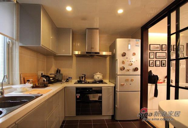 简约 三居 厨房图片来自佰辰生活装饰在11万打造85平低调温馨时尚居21的分享
