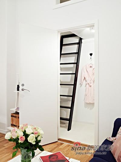 欧式 其他 其他图片来自用户2746889121在50平清雅简约白色单身公寓46的分享