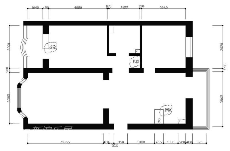 简约 二居 客厅图片来自用户2737735823在80㎡简洁大方温馨两居室49的分享